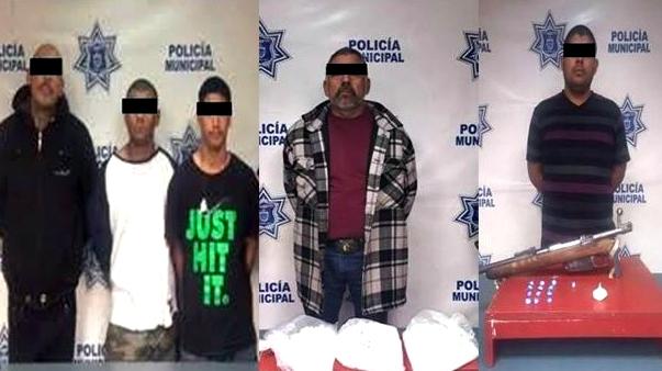 d a los detenidos en operativo alamo de tijuana
