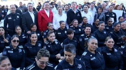 d a mujeres policia de tijuana con seguro de vida