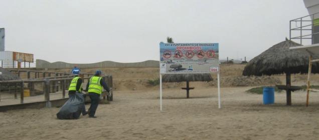 d a basura playas de ensenada