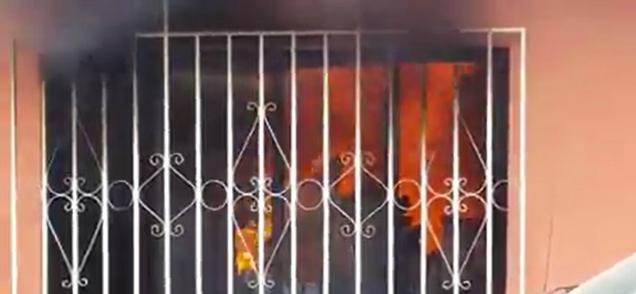 d a incendio en san jose del cabo bomberos atendieron y cruz roja