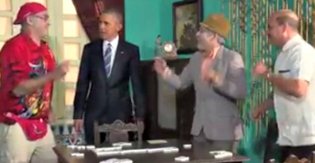 d a obama en cuba visita con panfilo