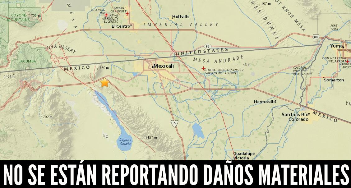 d a temblor en mexicali
