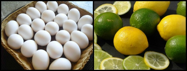 d a limon y huevo