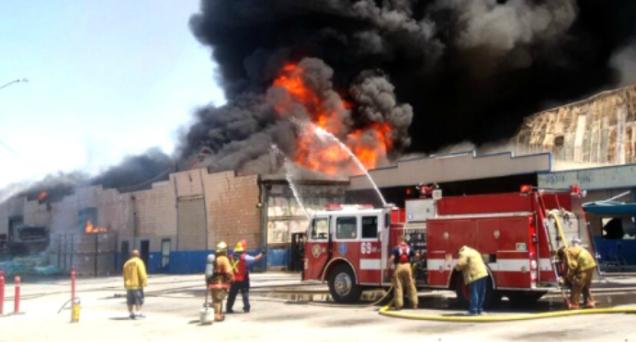 d a muerte de un bombero en mexicali