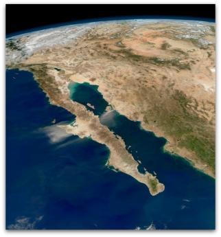 d a com baja california mapa satelital