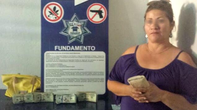 d a nogales detenida con 33 mil dolares