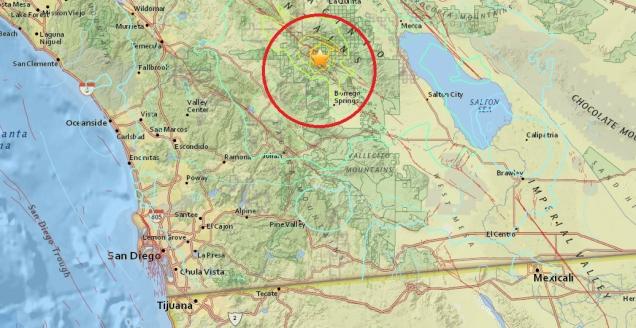 d a sismo de borrego springs