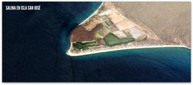 isla san jose explotacion de sal