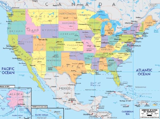 d-mapa-of-mexico