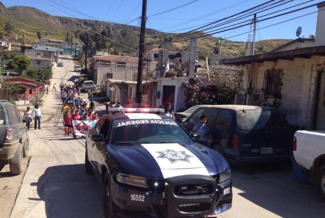 d a a a policia federal niños tijuana