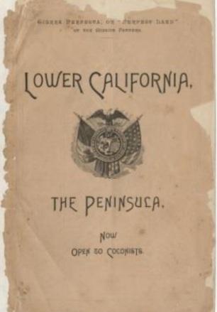 D BONO colonizacion de la peninsula de baja california