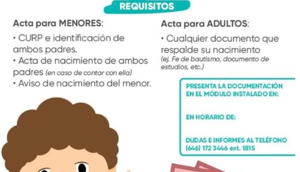 d a a a registro actas nacimiento