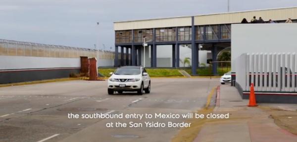 d a a a san ysidro southbound