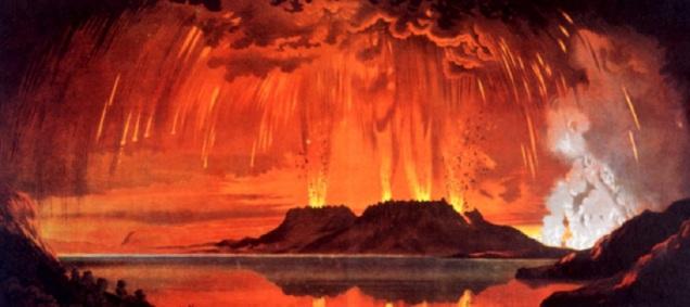 d a a a volcan activo erupcion