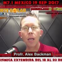 Alex Backman: ¡Ahora predice terremoto para Baja California Sur y costas de Sinaloa!