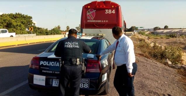 d a a autobus interceptado