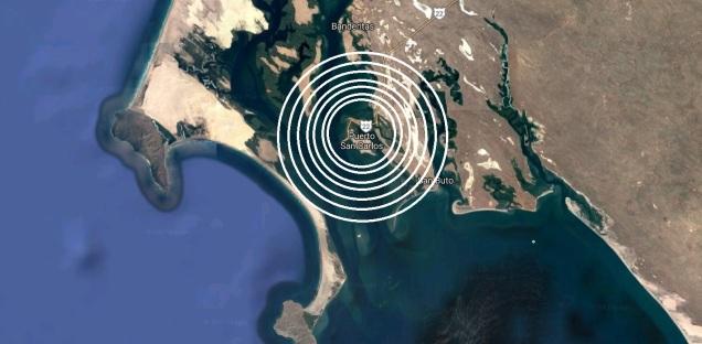 d a a sismo en puerto san carlos