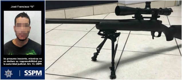 d a a a francotirador tijuana