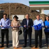 El nuevo parador turístico 24 HRS de LA RUMOROSA inaugurado