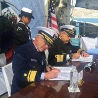 Acuerdan Armada de México y la de Estados Unidos atender incidentes que amenacen medio ambiente en #Ensenada