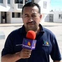 En Baja California Sur Policías atacan al reportero de TV @Azteca