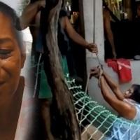 VIDEO: Malos hijos torturan a su madre para que les entregara la HERENCIA