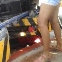 En #LosCabos murió aplastado por camion de CERVEZA MODELO
