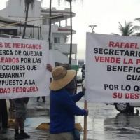 Detengan la entrega del Golfo de California piden pescadores de Mazatlán