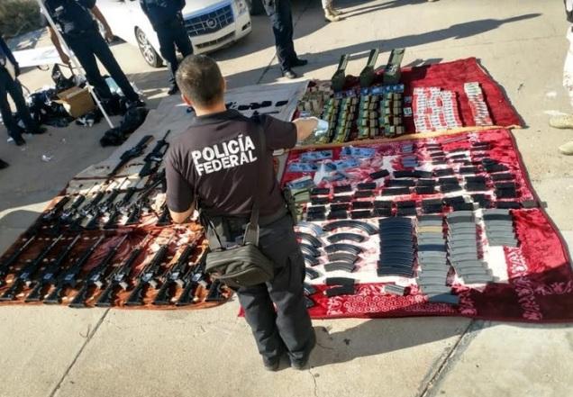 d a a a a contrabando de armas sonora