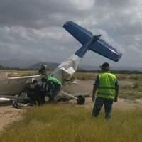 ¡Avionazo ocurrió la tarde de hoy en el aeropuerto de La Paz BCS!