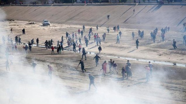 d a a a a caravana disturbios