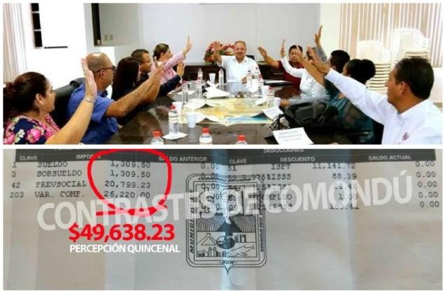 d a a a a gobierno walter valenzuela salarios comondu