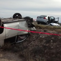 Se accidentó la avanzada del gobernador de Baja California Sur