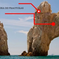 ¡Arco de Cabo San Lucas en peligro de derrumbarse!