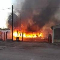 Identifican a los tres hermanitos que murieron en el incendio de ayer