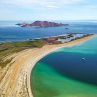 Con criptomonedas acaban de comprar Isla San José en Baja California Sur