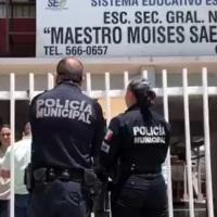 """Alumno llevó arma de fuego a la secundaria """"Moisés Sáenz"""""""