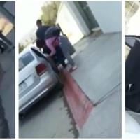 Horror: ¡Chofer de UBER Los Cabos casi mata a un bebé a propósito! -- VIDEO