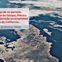 Estados Unidos no reconoce propiedad de México sobre Golfo de California
