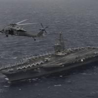 ¡Sacó de hibernación EEUU portaaviones y los envió a Baja California! (LA VERDAD)