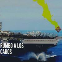 #ATENCIÓN: ¡Envía EEUU portaaviones USS Nimitz al Golfo de California!