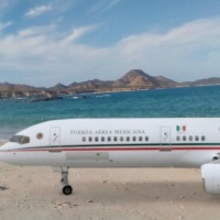 Terreno de Cabo Pulmo en BCS a cambio de avión presidencial TP 01