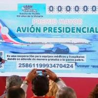 ¡Confirmó #AMLO que se va a rifa el Avión Presidencial TP01!