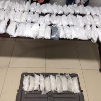 Guardia Estatal captura a dos con 33 kilos de metanfetamina -- #OTAY