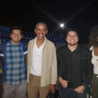 Barack Obama en visita de descanso en Loreto, Baja California Sur
