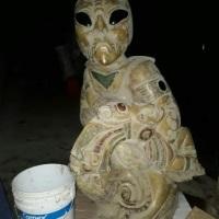 ¡Las estatuas de Aliens en ruta del Tren Maya!: SECRETO REVELADO
