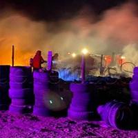 ¡Cinco niños murieron calcinados en voraz incendio en Baja California Sur!