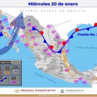ENSENADA: Pronóstico de frío y lluvias