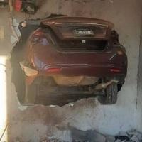 MEXICALI: ¡Dama se estrelló contra vivienda!