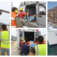Heroicos rescates de la Armada de México